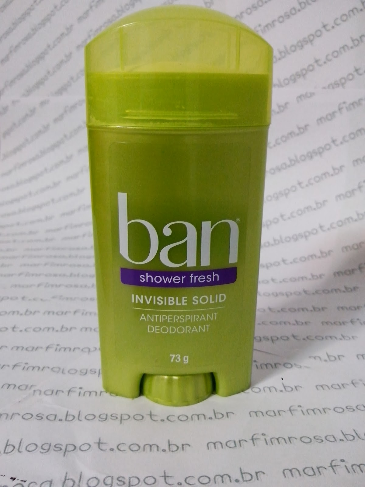 Desodorante Ban Shower Fresh resenha