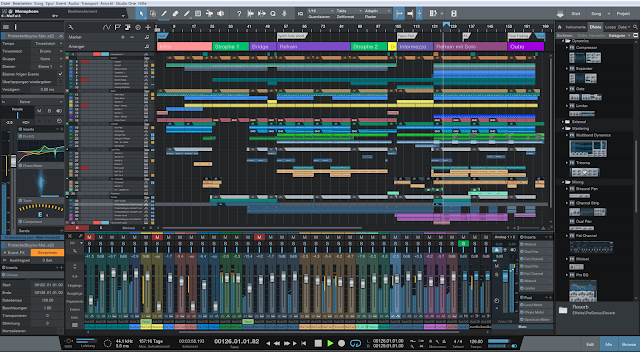 Free Download Studio One 3 Profesional (x86x64) Full Version With Keygen