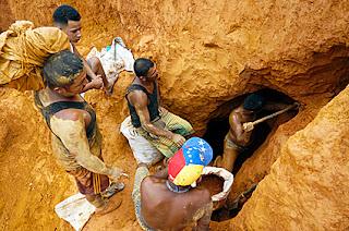 como y donde se busca oro en venezuela