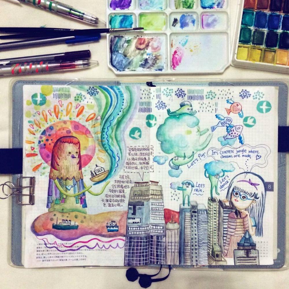Watercolor Journaling - cover