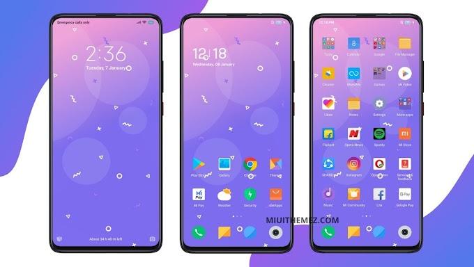 Lavender v11 MIUI Theme | Beautiful Purple Theme for Xiaomi Devices