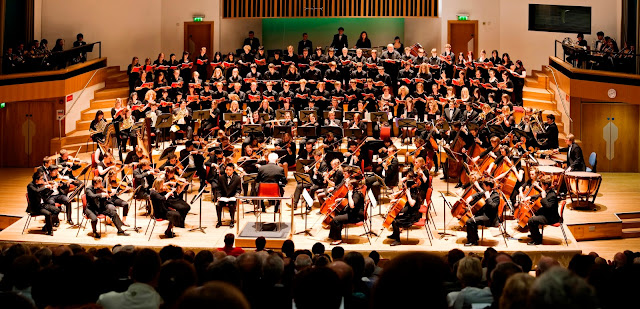 Birmingham Conservatoire Symphony Orchestra in Adrian Boult Hall