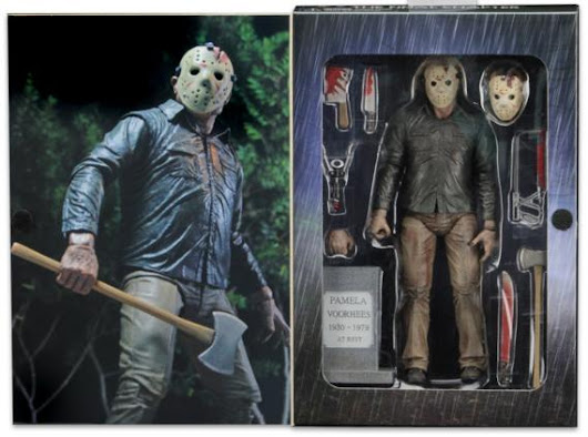 NECA Reveals Packaging For Ultimate Friday The 13th: The Final Chapter Jason Voorhees