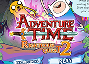 juegos adventure time rigtheous quest 2
