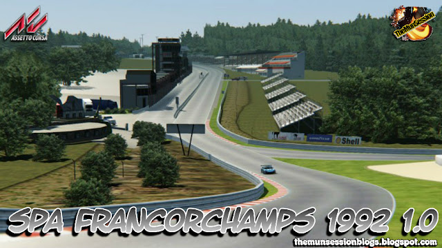 TheMunSession MODs for Games: Assetto Corsa Track Spa