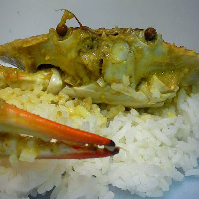 Darlene Cooked this: Crab Curry