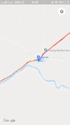 Memantau Lokasi Macet Melalui Google Maps