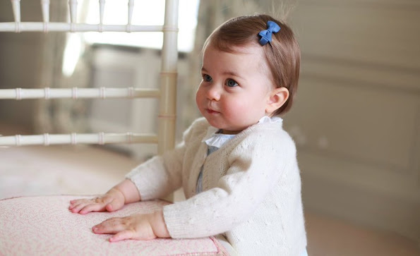 Princess Charlotte will celebrate her first birthday. On the occassion of that birthday, her mother Kate Middleton published Princess Charlotte wore dress livly shoes