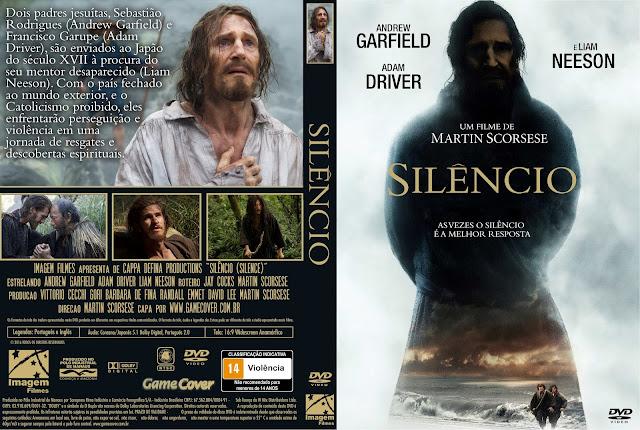 Capa DVD Silêncio [Exclusiva]