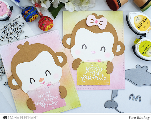 mama elephant Favor Bag Accessory - Monkey에 대한 이미지 검색결과
