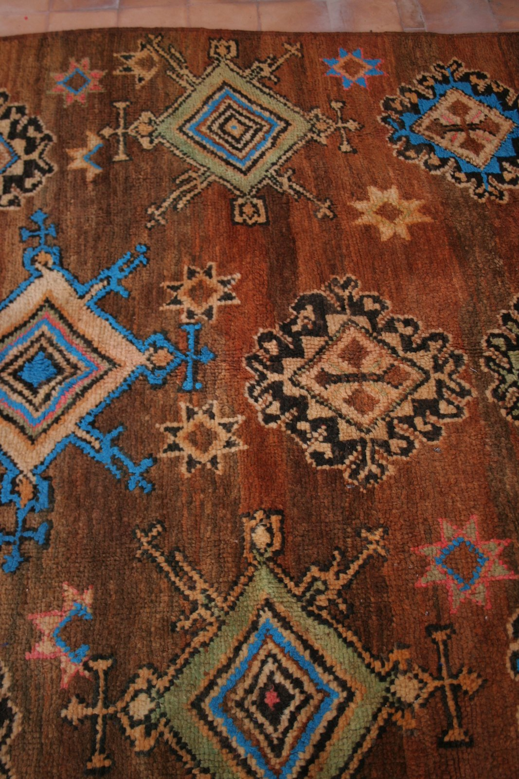 Berber Teppiche Marrakesch The Good Life In Morocco Magnificent Boujet Berber Carpet