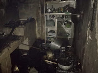 Kebakaran di Cengkeh 5 Gegerkan Warga yang Sahur