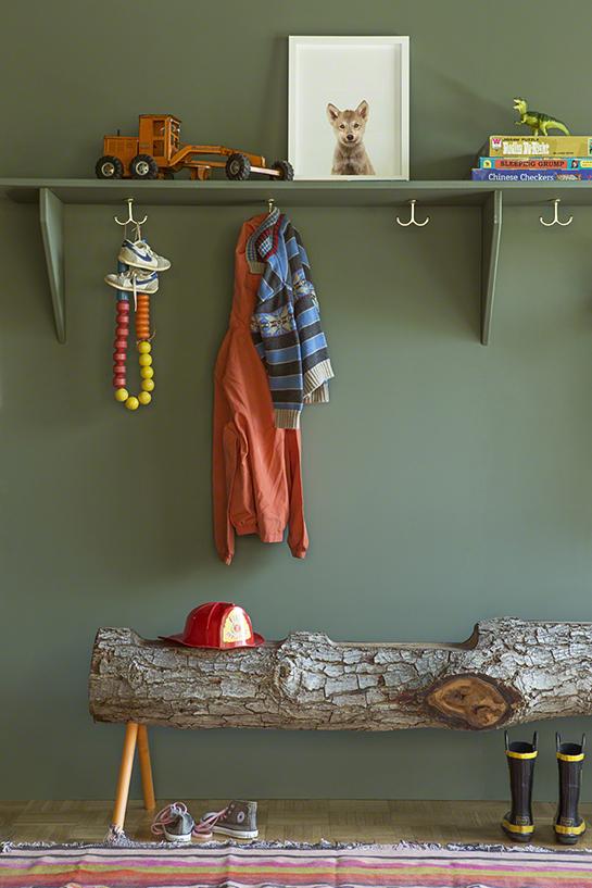 chambre pour enfants kaki