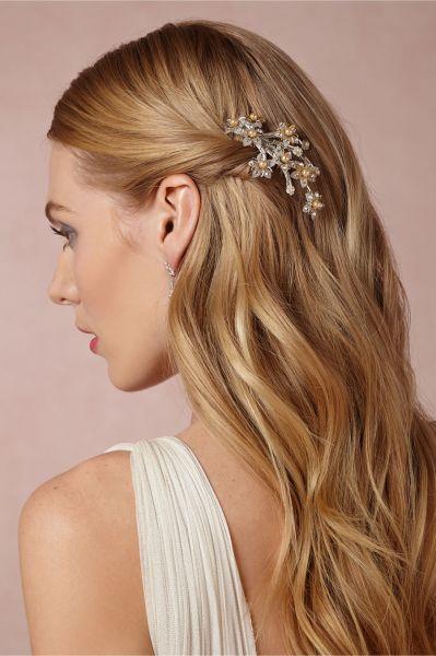 peinados de novias cabello suelto