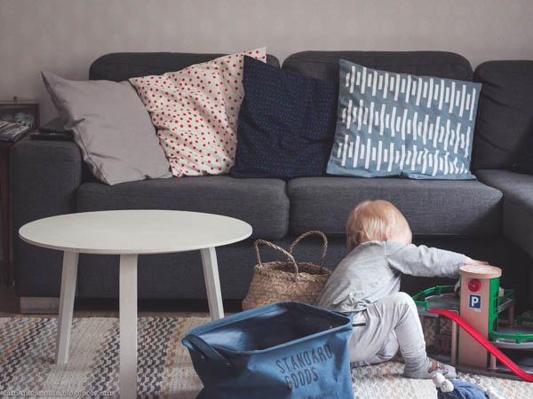 olohuone, sohva, brio parkkitalo