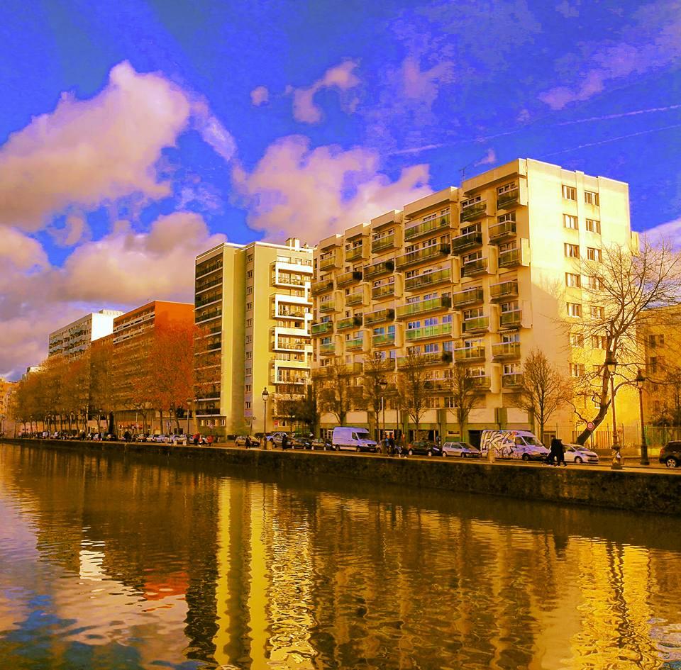 A Walk Along The Canal de l'Ourcq in Paris I Travelling Hopper; December, 2016