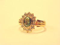 Gold ring - Jewelry pattern