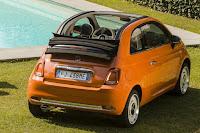 Fiat 500C Anniversario (2017) Rear Side
