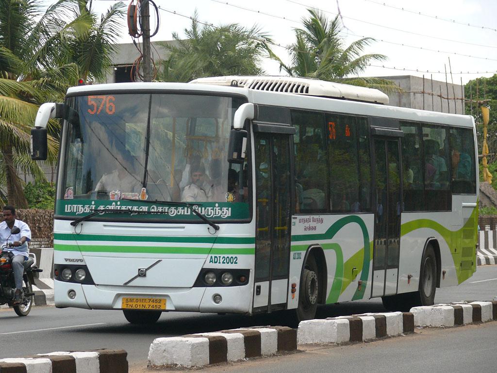 Chennai Mtc Buses Information