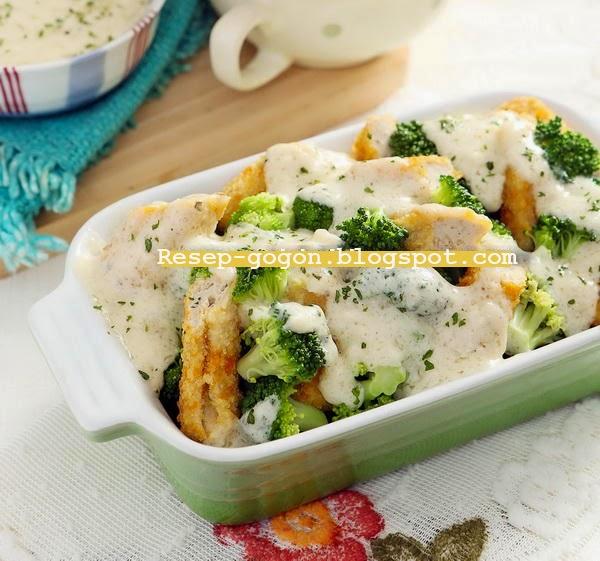 Resep Nugget Brokoli Saus Keju