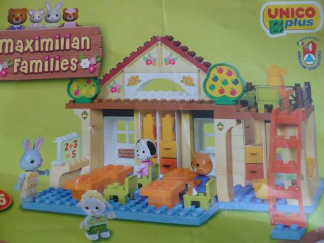 Mama Filipka I Kubusia Lego Duplo I Klocki Kompatybilne