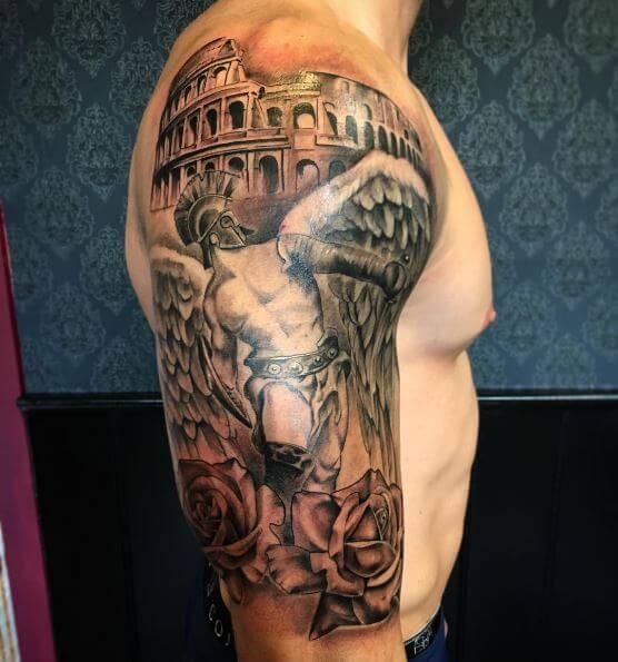 Angel warrior Tattoos