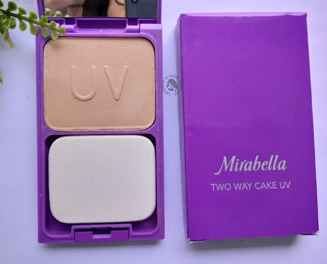 Mirabella Cosmetics, Mirabella UV two way cake, Mirabella bedak padat, pretty-moody.com