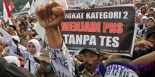 Kabar Gembira Bagi Honorer K2, 2019 Ada Pengangkatan PNS