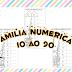 Atividades com as familias numéricas 10 ao 90