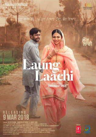 Laung Laachi 2018 Pre DVDRip 700MB Punjabi x264 Watch Online Full Movie Download bolly4u