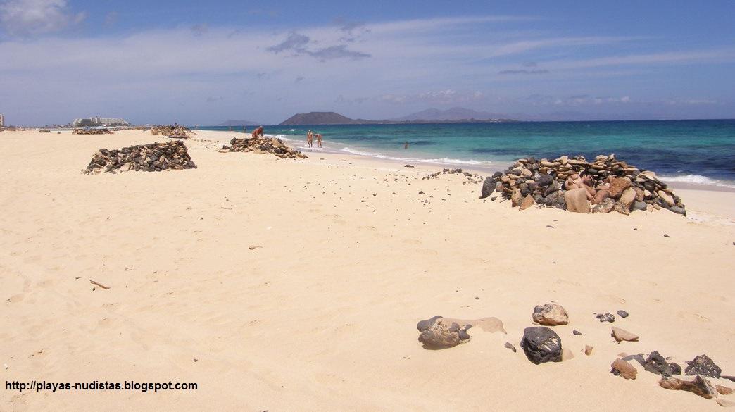 GAY BEACHES IN FUERTEVENTURA CANARY ISLANDS