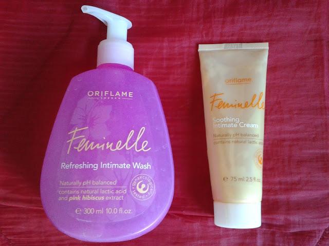 8189e4bc33c78 4. Płyn do higieny intymnej Feminelle Oriflame - jestem wierna płynom z  Oriflame