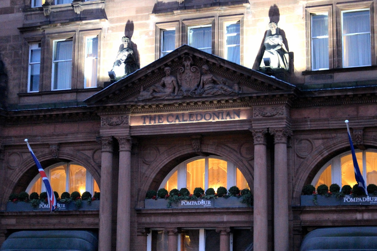 waldorf astoria the caledonian hotel facade