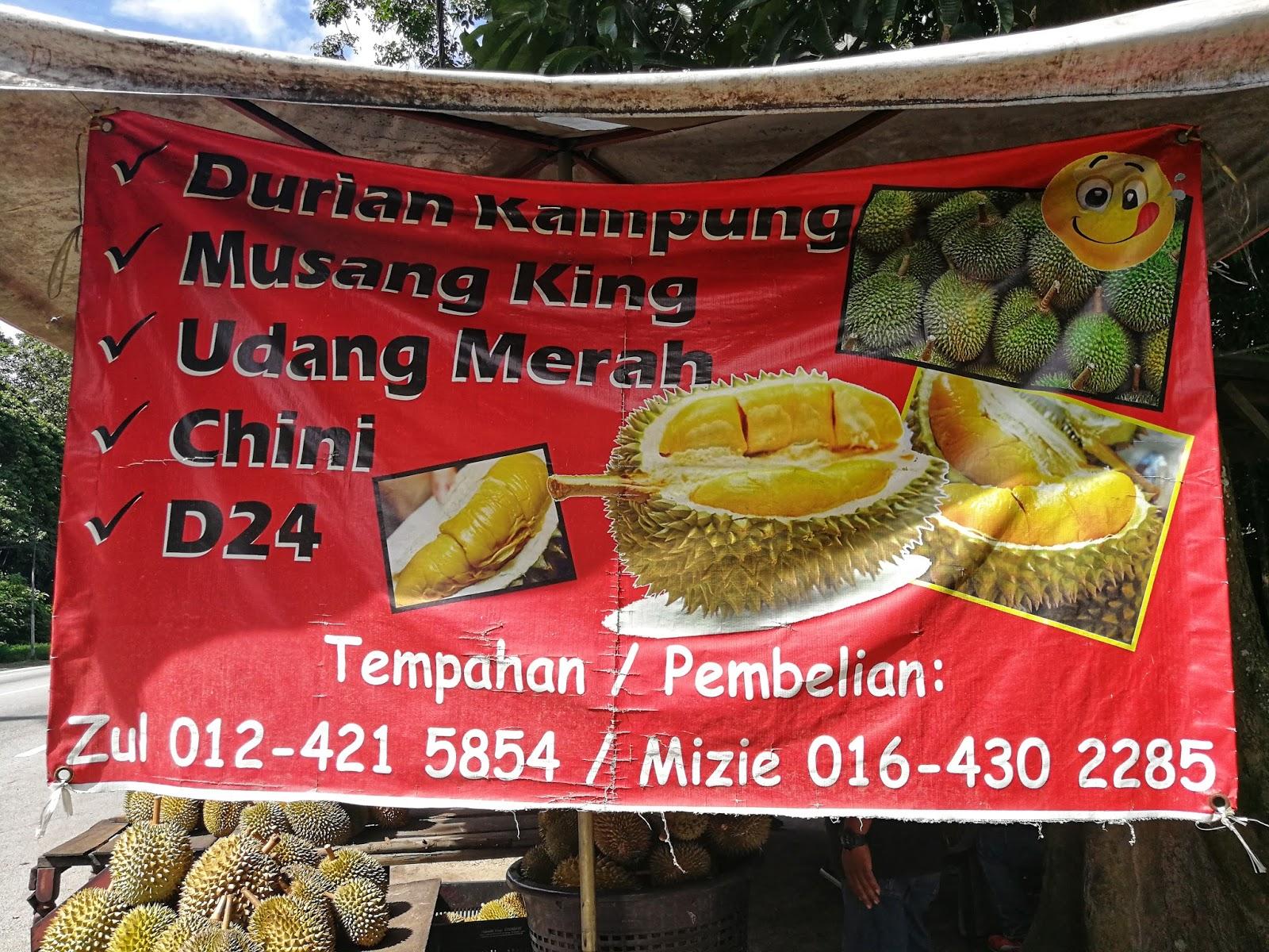 Tempahan durian