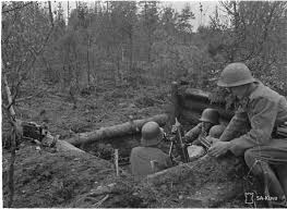 Finnish troops fire a mortar, 29 August 1941 worldwartwo.filminspector.com