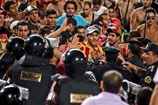هذه اسباب تعرض فئة من جماهير الترجي الى العنف والمضايقات في المغرب