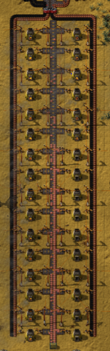 Factorio: Smelting Blueprint - Tactic Talisman