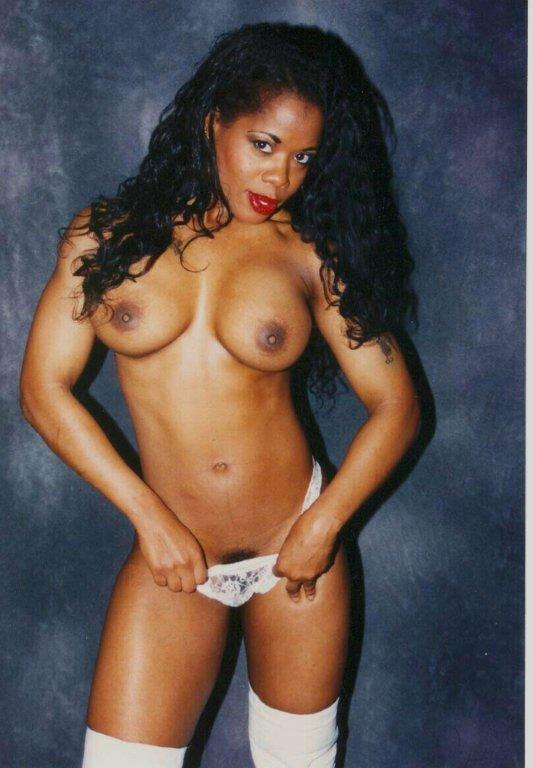 Jacqueline wwe tits