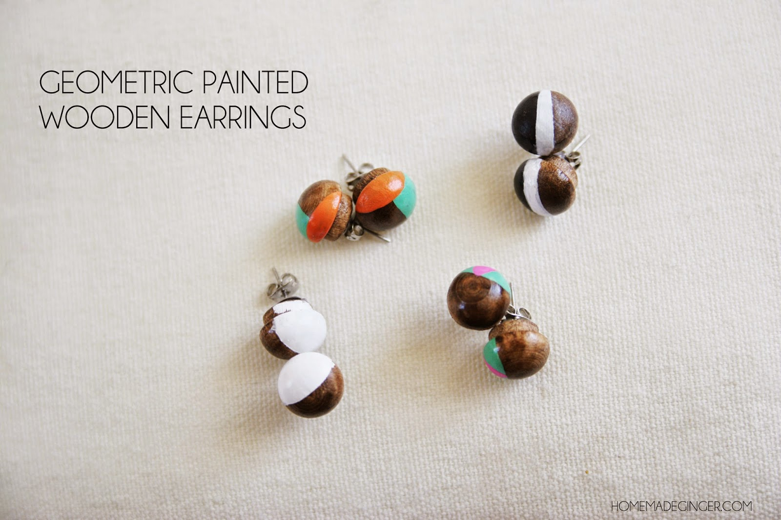 As If I Need Another Thing To Diy, Right? But I Came Up With These Little  Wooden Stud Earrings That I Thought Would Make A Fun Stocking Stuffer Idea