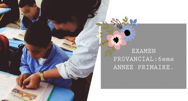 امتحانات اشهادية في اللغة الفرنسية-المستوى السادس-