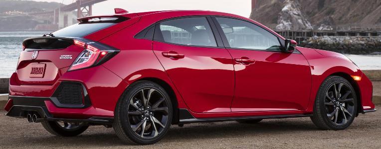 Saxton On Cars 2017 Honda Civic Hatchback Starts At 20 535 On Monday