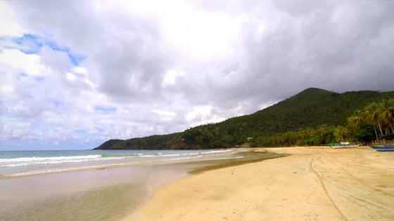Nagtabon Beach in Puerto Princesa - Beach Kept Secret g dumaguing exotic philippines travel blogger cebu vlogger palawan blog