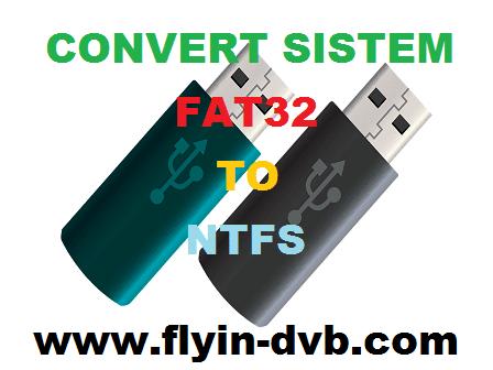 Cara Merubah Sistem Flash disk Atau Hardisk External dari FAT32 ke NTFS