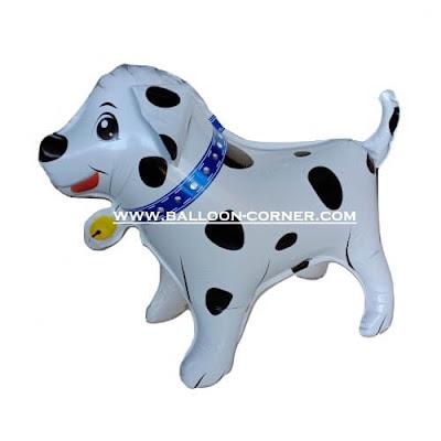 Balon Foil Anjing Dalmatian 3D (3 Dimensi)