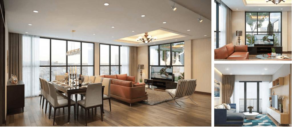 Thiết kế căn hộ goldlight Complex