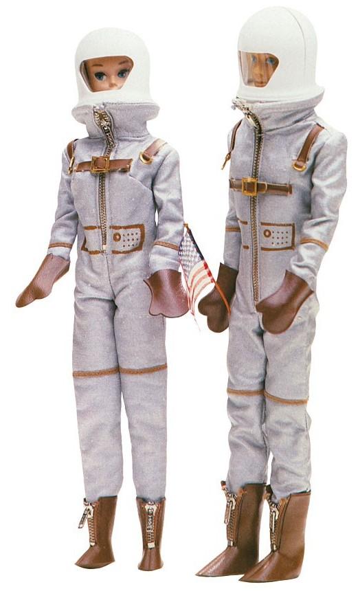 astronaut barbie 1965 - photo #5