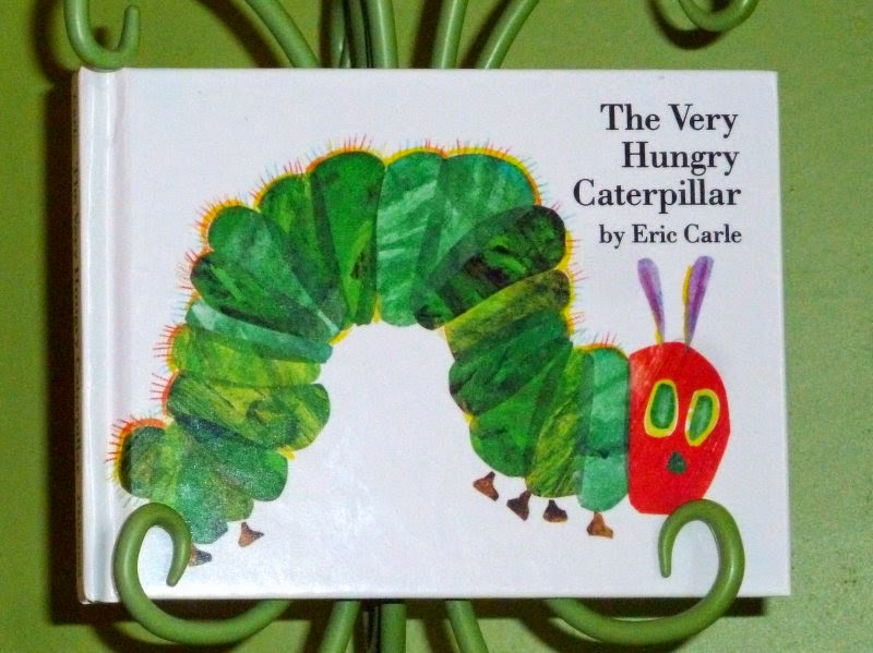 The Very Hungry Caterpillar - pocket size book - AppleGreen Cottage