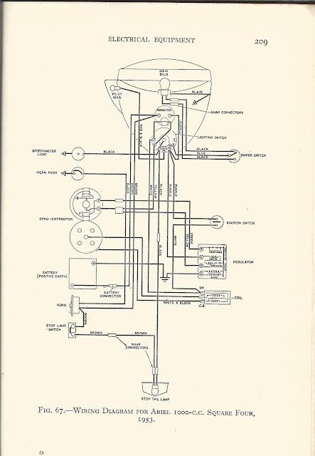 four light wire diagram switch