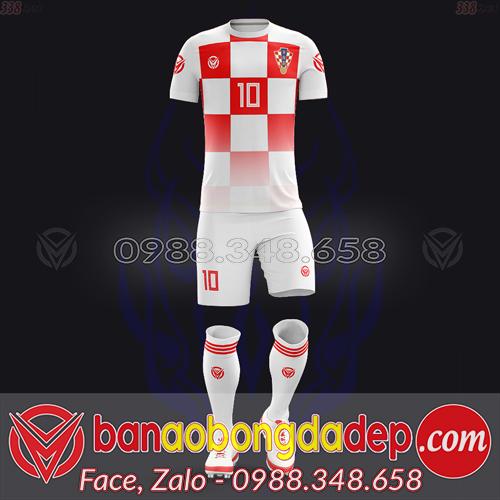 Áo Đội Tuyển Đặt May Theo Yêu Cầu - Mã CROATIA-04