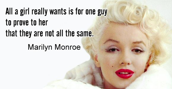 Famous Marilyn Monroe Quotes About Love: THE LOVE ZONE: FAMOUS QUOTES